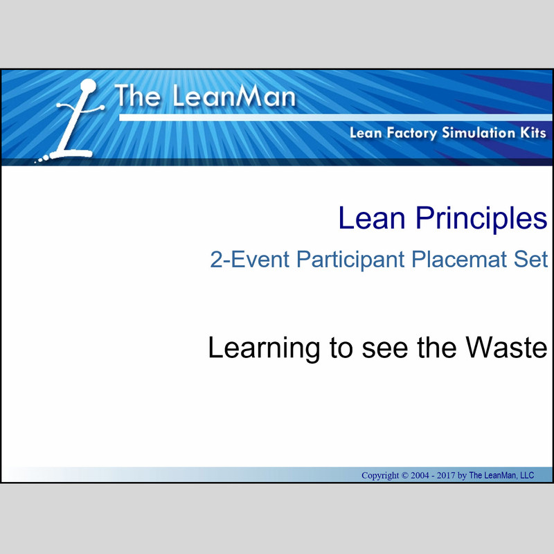 Learning to See The Waste Participant Placemat Set
